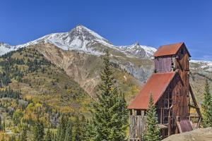Yankee Girl Silver and Gold Mine, Ouray, Colorado, United States of America, North America by Richard Maschmeyer