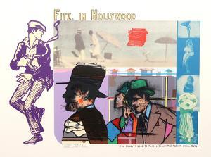 Fitz in Hollywood by Richard Merkin