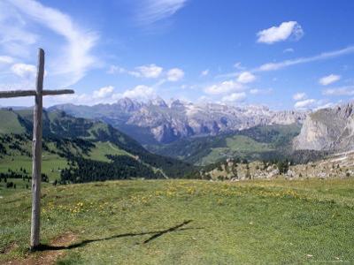 Christian Crosses Dominate Most Prominent Peaks in Alps, 2244M, Alto Adige