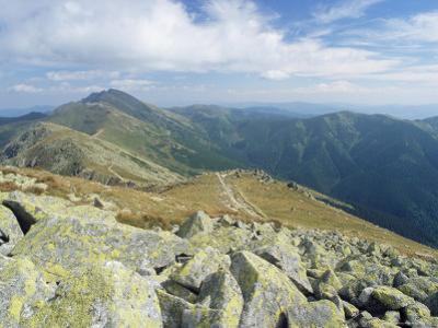 Dumbier Ridge Dominated by Dumbier Peak, 2043M, in Low Tatry, Nizke Tatry, Zilina Region, Slovakia