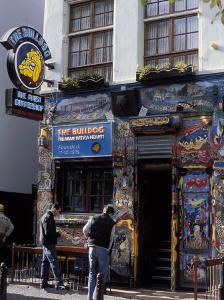 Exterior of the Bulldog Coffee Shop, Amsterdam, the Netherlands (Holland) by Richard Nebesky