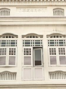 Facade of Traditional Singaporean Colonial Building, Little India, Singapore, Southeast Asia by Richard Nebesky