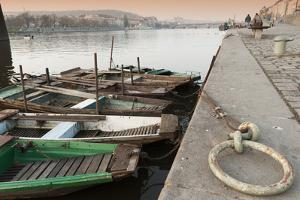 Fishing Boats by Richard Nebesky