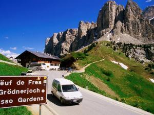 Gardena Pass, Dolomiti Di Sesto Natural Park, Italy by Richard Nebesky