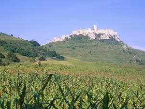 Largest Ruined Castle in Slovakia, Spis Castle, Unesco World Heritage Site, Presov Region by Richard Nebesky