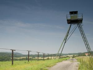 Only Section That Remains of Iron Curtain in Czech Republic, Podyji National Park by Richard Nebesky