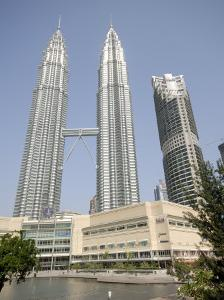 Petronas Twin Towers, One of the Tallest Buildings in the World, Kuala Lumpur, Malaysia by Richard Nebesky