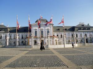 Rococo Grassalkovich Palace Dating from 1760s, Bratislava, Slovakia by Richard Nebesky