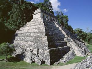 Temple of the Inscriptions, Palenque, Unesco World Heritage Site, Chiapas, Mexico, Central America by Richard Nebesky
