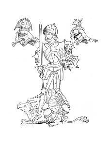 Richard Neville or Nevill, Earl of Warwick, English Medieval Soldier and Statesman, 19th Century