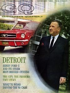 GQ Cover - November 1964 by Richard Nones