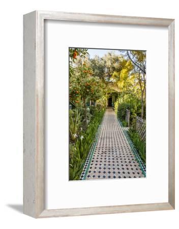 A Garden Path in Le Jardin Des Biehn, a Riad or Small Hotel in the Medina of Fez