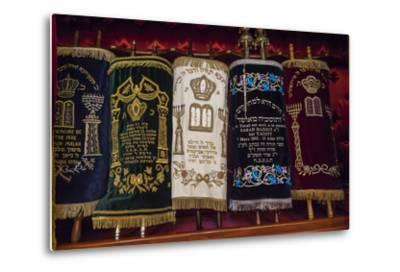 A Group of Torah Scrolls in the Neve Shalom Synagogue in Casablanca