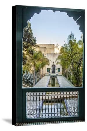 A Reflecting Pool in Le Jardin Des Biehn, a Riad or Small Hotel in the Medina of Fez