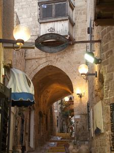 A Street in the Old Jaffa Historic District of Tel Aviv by Richard Nowitz