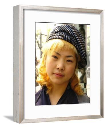 A Teenage Chinese Girl