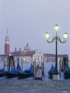 A View of the San Giorgio Maggiore Church on the Canale Di San Marco by Richard Nowitz