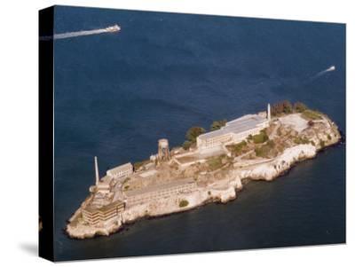 Aerial View of Alcatraz Island