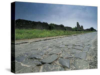 Appian Way, an Ancient Roman Road