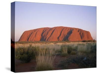Ayers Rock in the Twilight