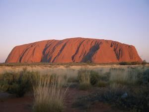 Ayers Rock in the Twilight by Richard Nowitz