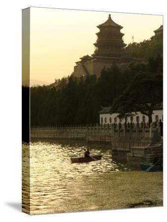 Boaters on Kunming Lake at the Summer Palace