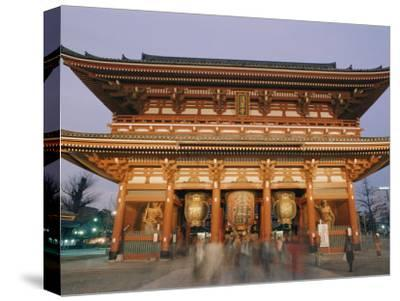 Built in 645 Ad, the Asakusa Kannon Temple is the Oldest Temple in Tokyo