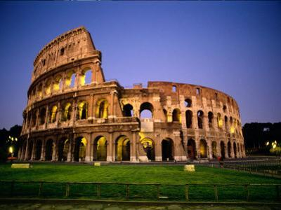 Colosseum at Dusk by Richard Nowitz