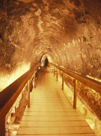 Excavations of the Ancient Water Tunnel at Tel Meggido, Israel by Richard Nowitz