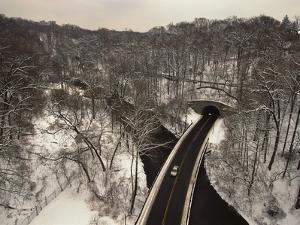 Highway Crossing a Creek by Richard Nowitz