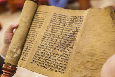 Jews Read the Scroll of Esther During a Celebration of Purim, Neve Shalom Synagogue, Casablanca