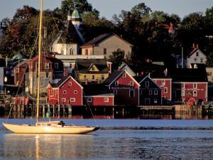 Lunenburg Harbor, an Old German Fishing Village in Nova Scotia by Richard Nowitz