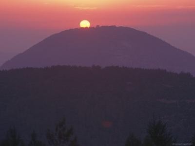 Mount Tabor at Sunrise by Richard Nowitz