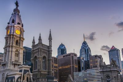 Philadelphia 's City Hall with the Skyline of the Central Business District, 2014 by Richard Nowitz