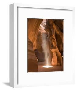 Ray of Sunlight on the Floor of Antelope Canyon by Richard Nowitz