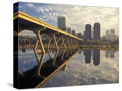 Richmond Skyline and the James River