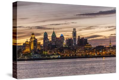 Skyline of Philadelphia Seen from Camden, New Jersey