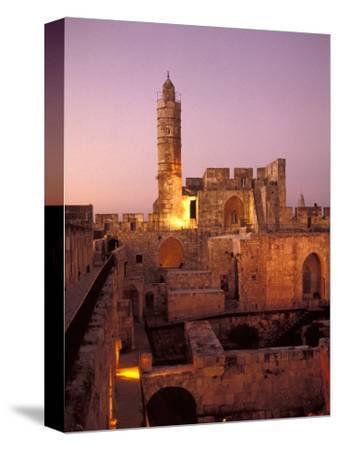 Sound and Light Show at Jerusalem City Museum of Citadel of David and Jaffe Gate