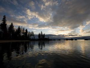 Sunset at Lakeridge, Lake Tahoe, Nevada by Richard Nowitz