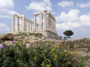 Temple of Poseidon by Richard Nowitz