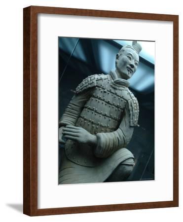 Terra-Cotta Warrior Excavated at Qin Shi Huangdis Tomb