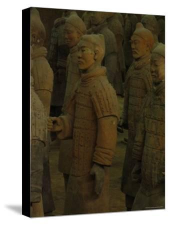 Terra-Cotta Warriors Excavated at Qin Shi Huangdis Tomb