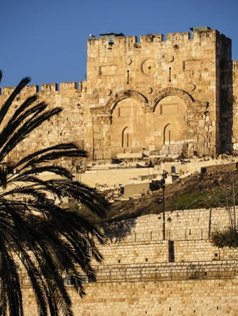 The Golden Gate, the Oldest of the Gates in Jerusalem's Old City Walls