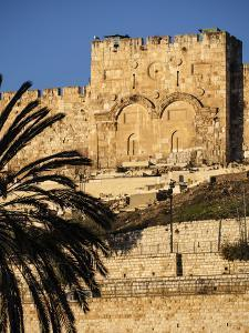 The Golden Gate, the Oldest of the Gates in Jerusalem's Old City Walls by Richard Nowitz