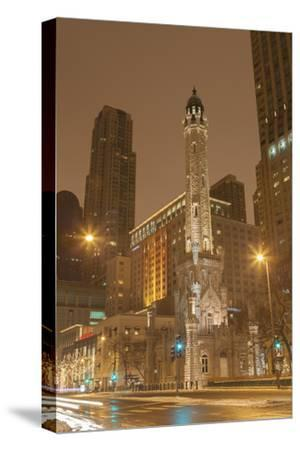 The Historic Chicago Water Tower, on Michigan Ave in the Magnificent Mile, 2013