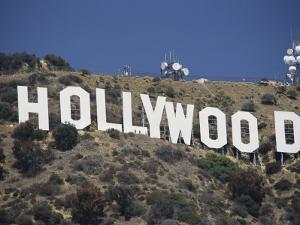 The Landmark Hollywood Sign by Richard Nowitz