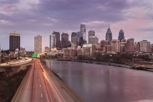 The Philadelphia Skyline from the South Street Bridge, 2014 by Richard Nowitz