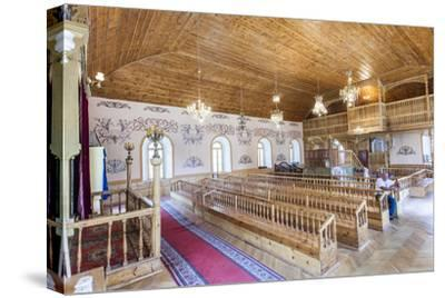 The Wooden Interior in the Akhaltsikhe Synagogue of the Georgian Jews
