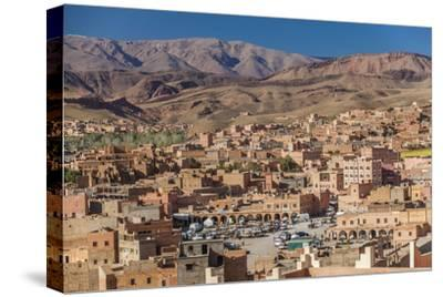 Tinghir, an Oasis in the Wadi Todgha in the South-Eastern Foothills of the Atlas Mountains