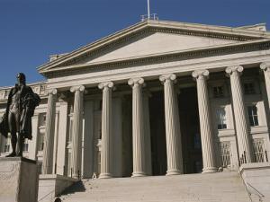 U.S. Treasury Building, Washington, D.C. by Richard Nowitz